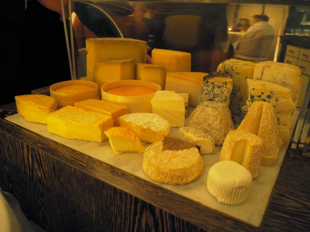 Nice selection of cheese