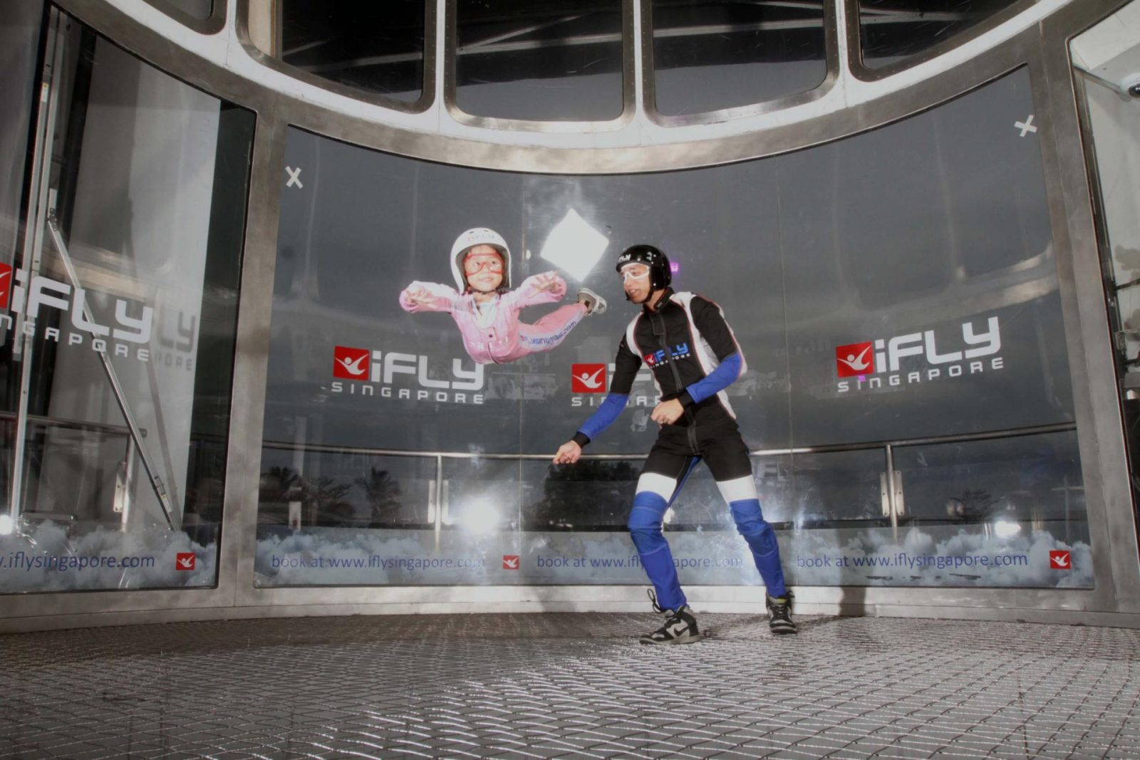 iFly Singapore kids indoor skydiving